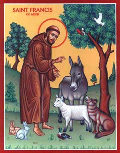 San Francesco amava la creazione e gli animali - San Francisco amaba la creación y los animales